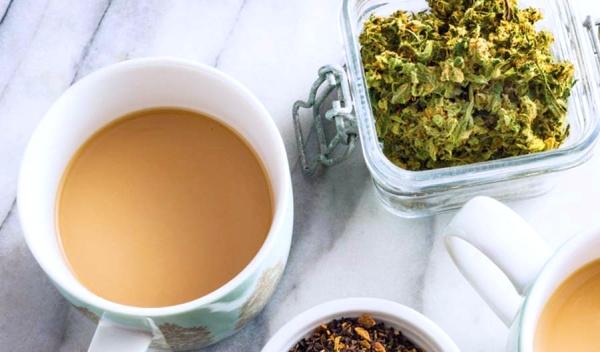 cannabis chai tea
