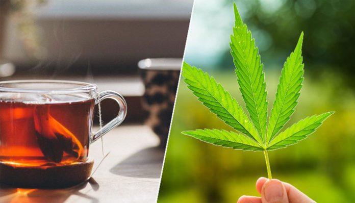 tea-with-marijuana